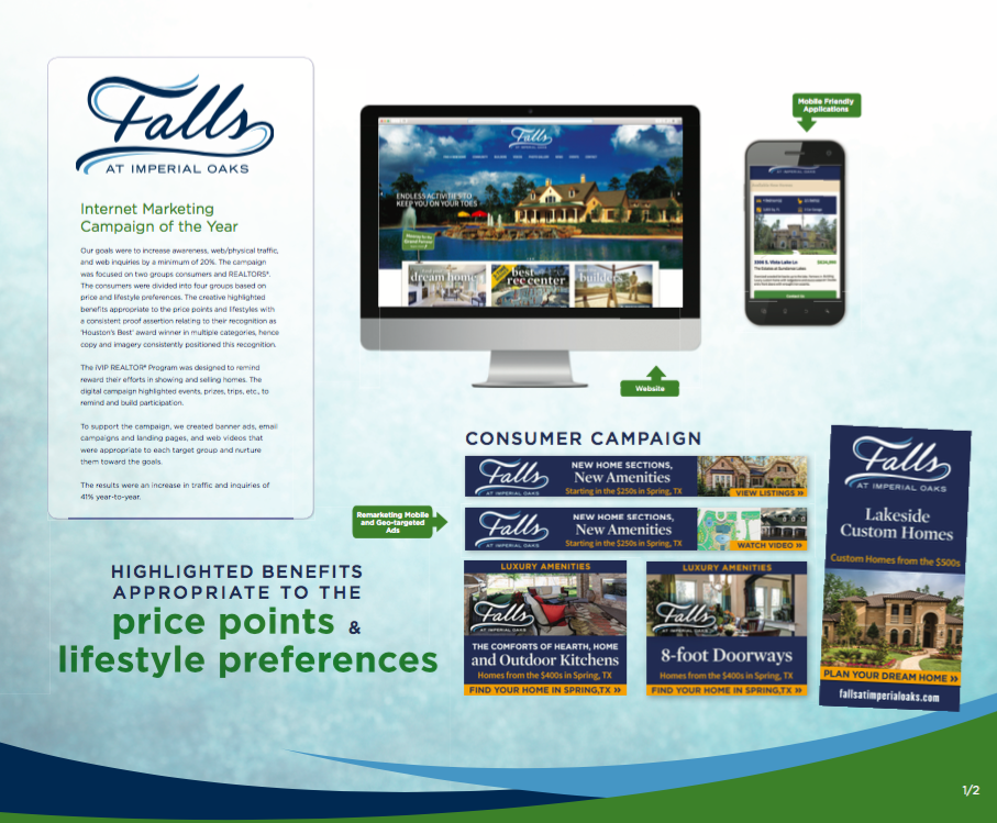 Internet Marketing Campaign - Falls