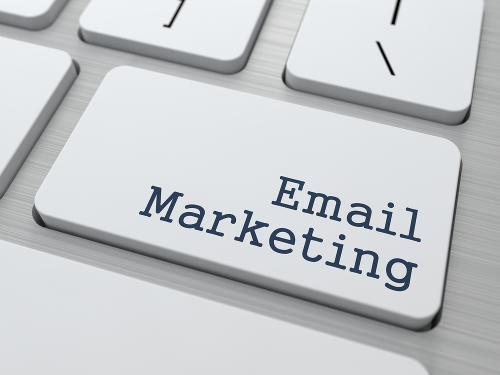 Email Marketing Concept. Button on Modern Computer Keyboard with Word Partners on It.