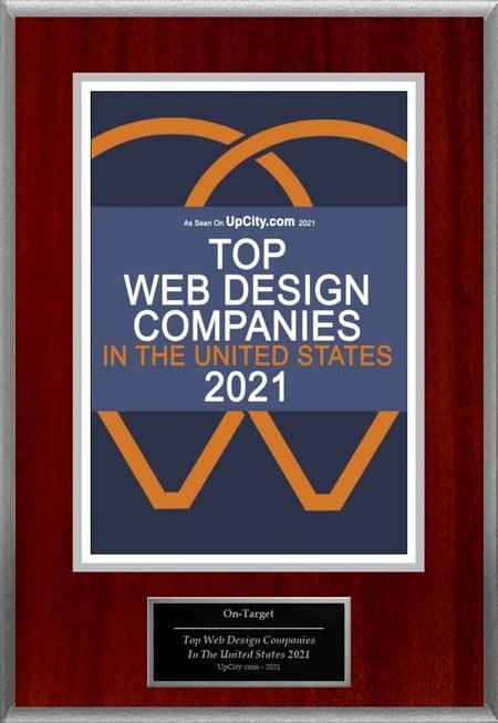 UPCITY OTM 2021 Web Design Award