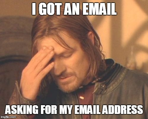 boromir-email meme