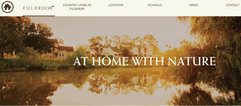 real estate  web copy example