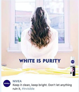 white ad