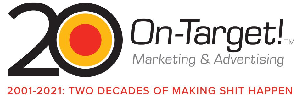 Houston marketing firm 20 year logo