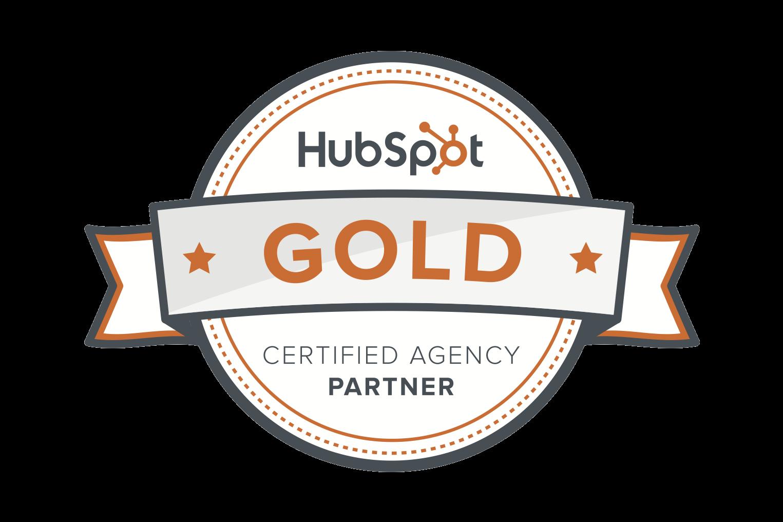 HubSpot Agency Gold Partner