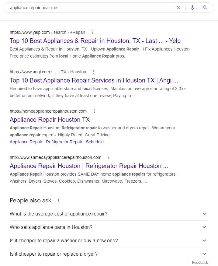 appliance-repair-search